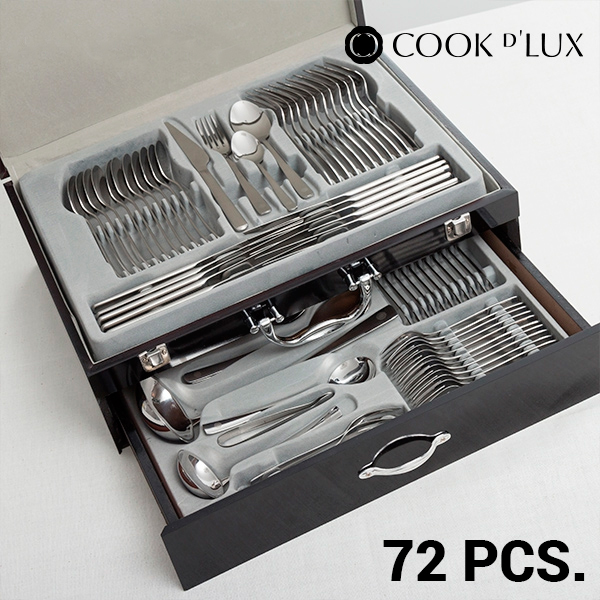 Cook D'Lux Stainless Steel Cutlery Set (72 pieces)