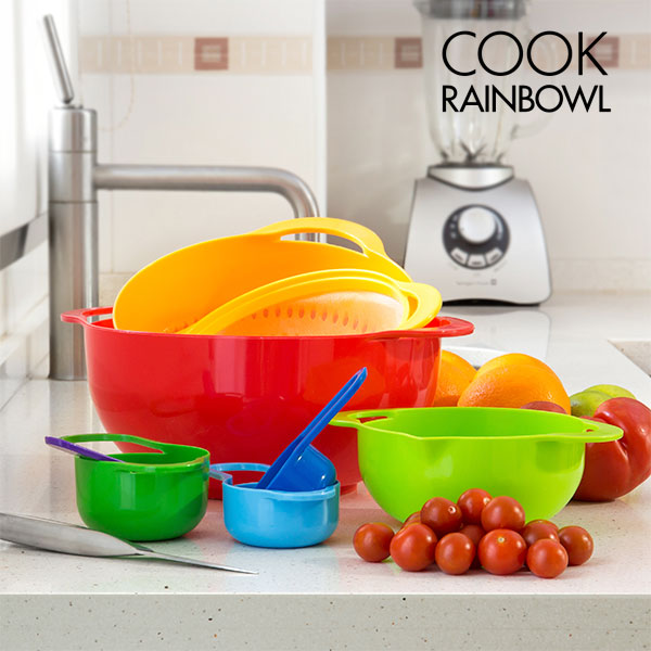 Cook Rainbowl Kitchen Utensils