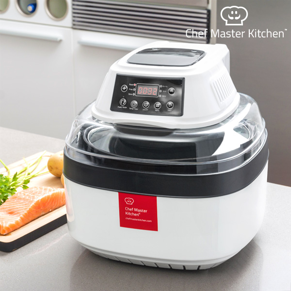 Oil-Free Fryer Chef Master Kitchen Free Fry Cooker 1 L 1000W White