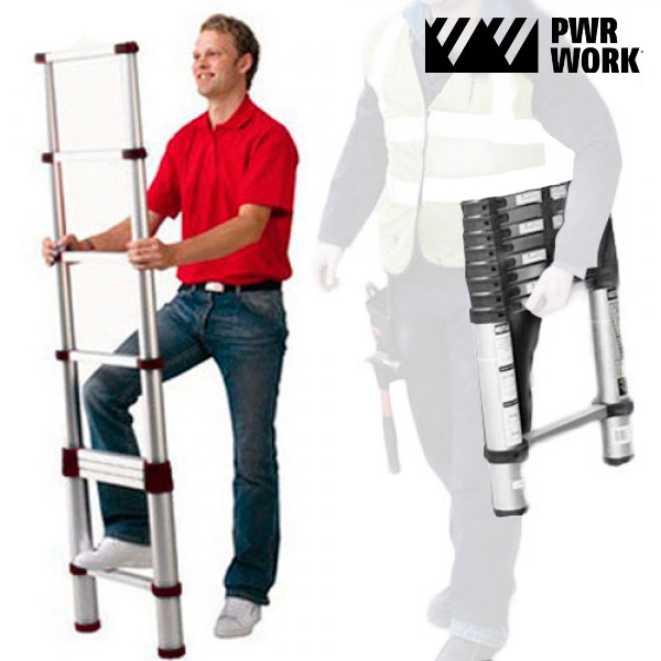 XXL Ladder Extendable Telescopic Ladder