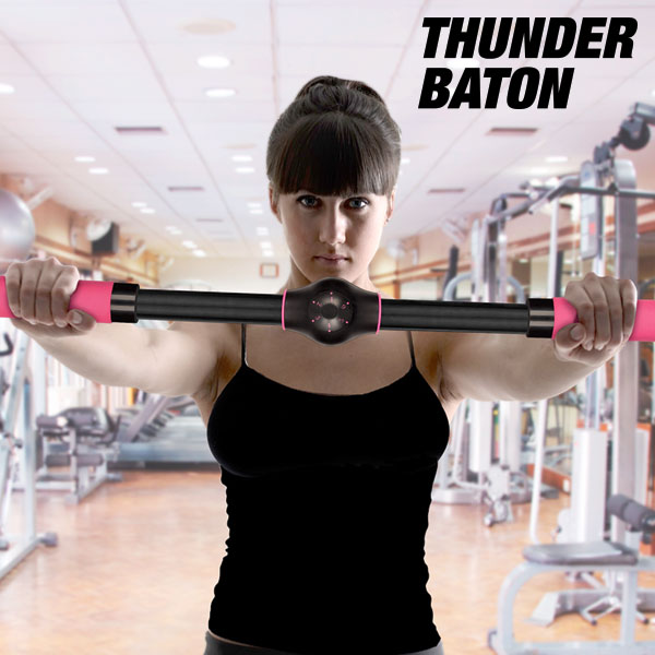 Thunder Baton Breast Enhancing Exercise Bar