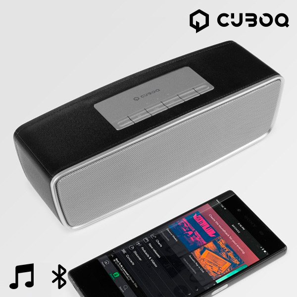 CuboQ Radio Bluetooth Speaker