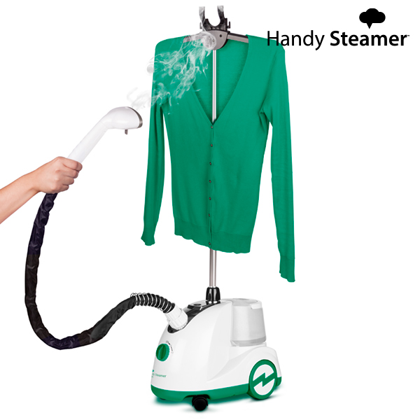 Vertical steam iron Omnidomo Handy Steamer Swan 1,5 L 750-10500W White Green