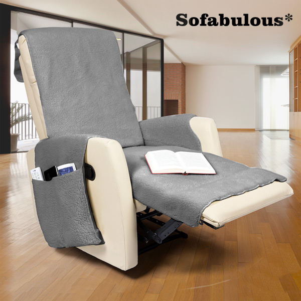 Sofabulous Armchair Cover with Pockets