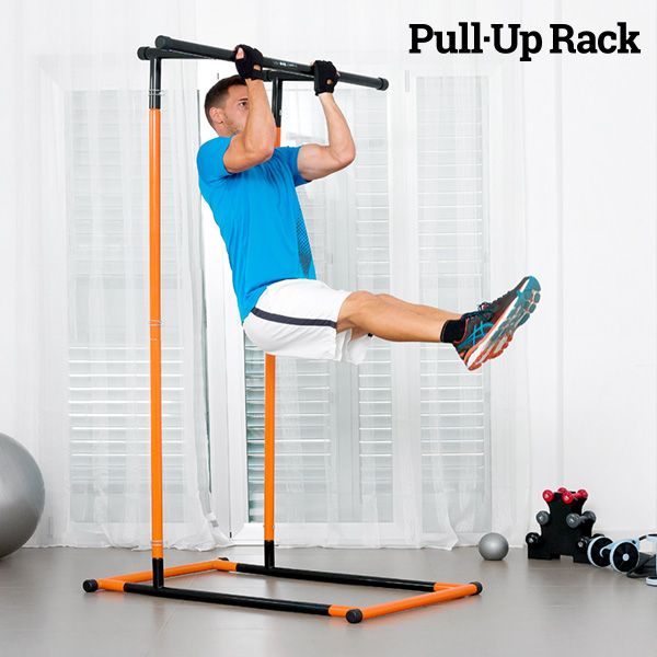 Pull-Up Rack Pull-Up and Fitness Station with Exercise Guide