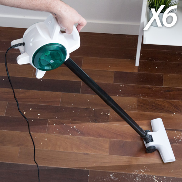 Electric brooms and handheld vacuum cleaners X6 Handy Vacuum 0,5 L 400-600W White Green