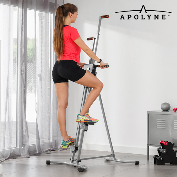 4x Vertical Climber Stair Climber Fitness Machine with Exercise Video