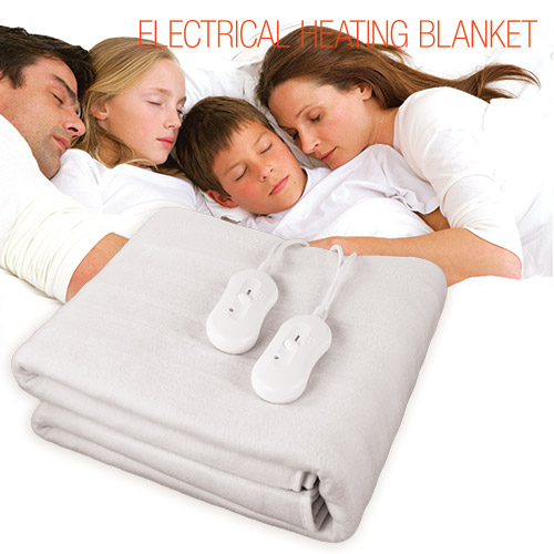 Electrical Heating Blanket Double Electric Blanket 160 x 140 cm