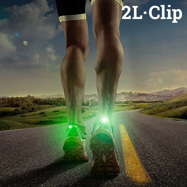 2L·Clip Safety LED Light for Trainers
